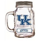 Kentucky Wildcats Mason Jar Glass Mug 16oz.