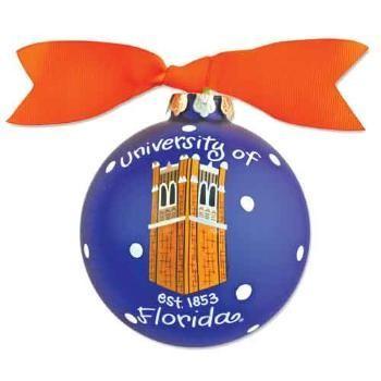 Florida Gators Tower Logo Christmas Ornament