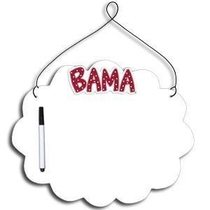 Alabama Crimson Tide Dry Erase Board