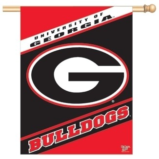 Georgia Bulldogs Vertical Flag 27x37