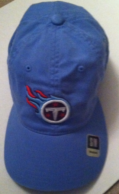 Tennessee Titans Sideline Hat Baby Blue
