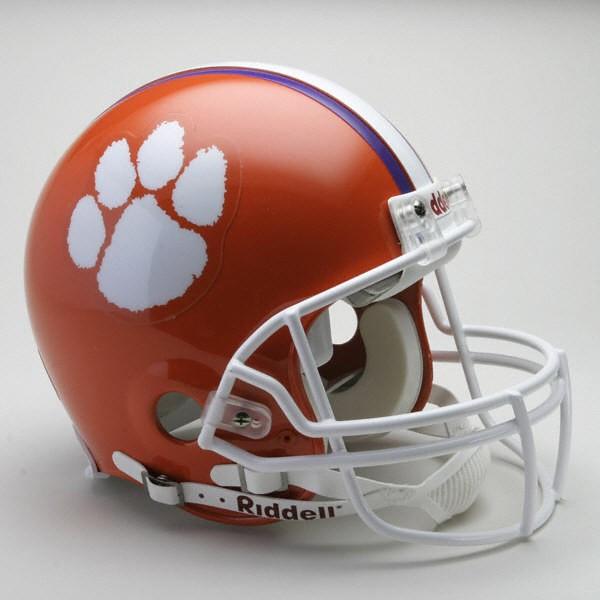 Clemson Tigers Authentic Helmet
