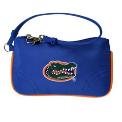 FLORIDA GATORS NCAA COLLEGIATE WRISTLET CHANGE PURSE
