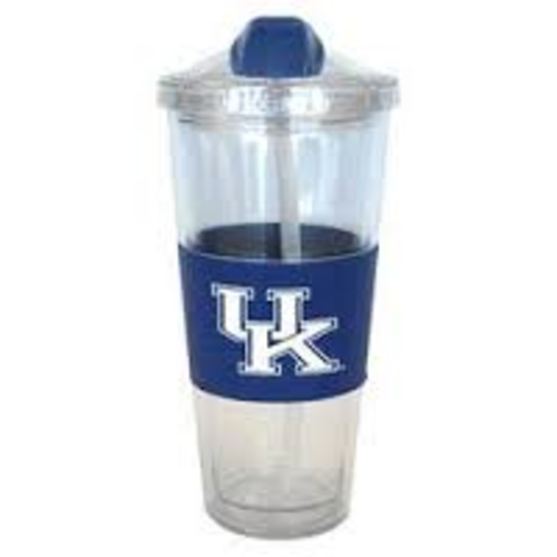 Kentucky Wildcats No Spill Plastic Tumbler with Straw