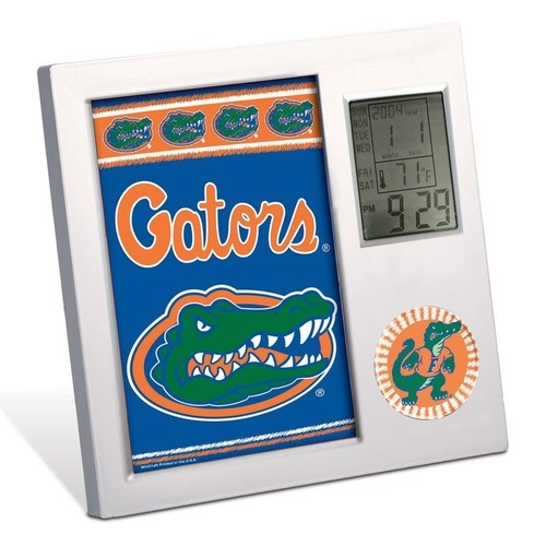 Florida Gators Team Desk Clock