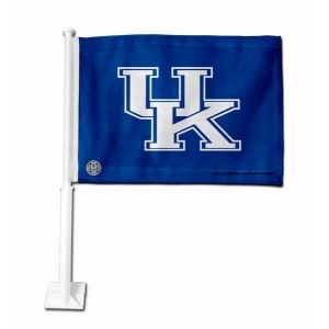 Kentucky Wildcats Car Flag