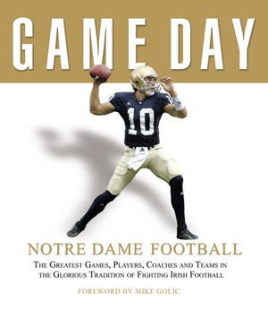 Notre Dame Fighting Irish Football Game Day Book