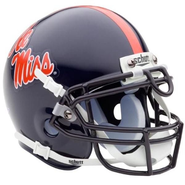 Schutt Ole Miss Rebels NCAA Mini Helmet
