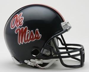 Ole Miss. Rebels NCAA Riddell Mini Helmet