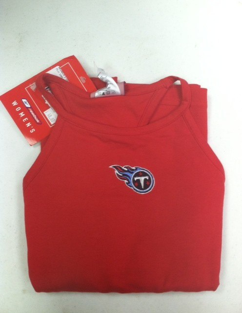 """Tennessee Titans Women's Tank Top """"Big Red"""""""