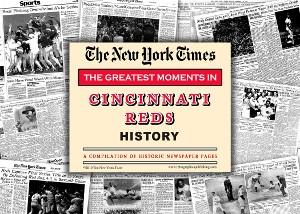 Cincinatti Reds Greatest Moments Newspaper