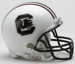 South Carolina Gamecock NCAA Riddell Mini Helmet