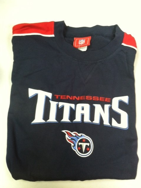 "Tennessee Titan's Men's Navy T-shirt "" The Racer"""