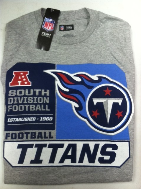 "Tennessee Titan's NFL TEAM APPAREL T-shirt "" The HALL of Fame"""
