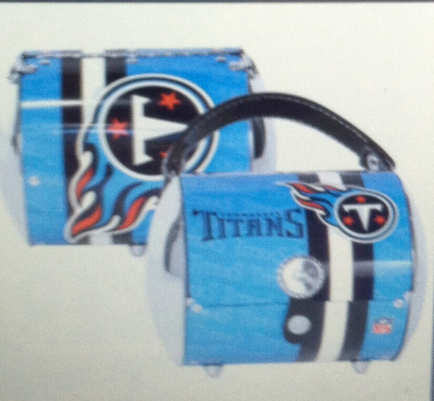 "Tennessee Titan's Women's Purse "" The Super Cyclone "" Littlearth"