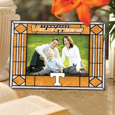 Tennessee Volunteers Art Glass Picture Frame
