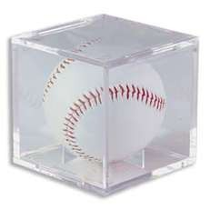UV Protected Square Baseball Display Case