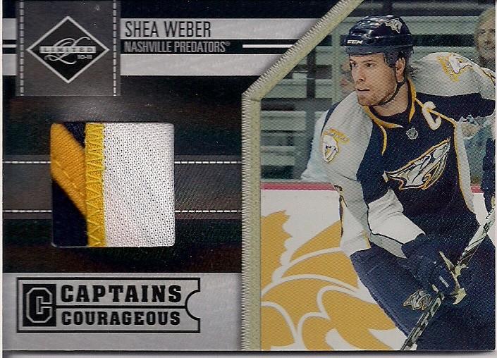 Shea Weber Nashville Predators 3 Color Jersey