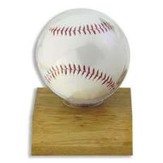 Wood Baseball Display Case