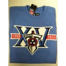 "Tennessee Titan's Baby Blue NFL TEAM APPAREL T-shirt ""15th anniversary"""