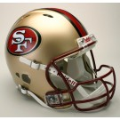 San Francisco 49'ers Authentic Helmet