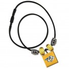 Nashville Predators Lifetile Bead Necklace