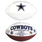 Dallas Cowboys Signature Football
