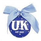 Kentucky Wildcats Tower Logo Christmas Ornament