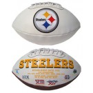 Pittsburgh Steelers Embroidered Football