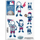 Atlanta Braves Family Car Decal Sheet