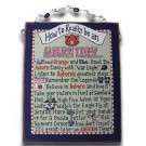 "Auburn Tigers ""How to Really be an Auburn Tiger"" Beaded Canvas"