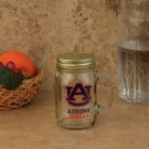 Auburn Tigers Mason Jar Glass Mug 16oz.