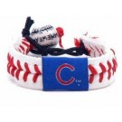Chicago Cubs Leather Gamewear Bracelet