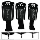 New York Yankees Golf Club Headcovers 3 pack