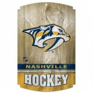 Nashville Predators Wood Sign