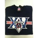 "Tennessee Titan's Navy Blue NFL TEAM APPAREL Long Sleeve T-shirt ""15th anniversary"""
