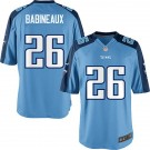 Tennessee Titans Jordan Babineaux Youth Game Day Blue Home Nike Jersey