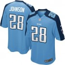 Tennessee Titans Chris Johnson Women's Nike Game Jersey - Light Blue