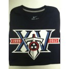 "Tennessee Titan's Navy Blue Nike DRI-FIT T-shirt ""15th anniversary"""
