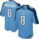 Tennessee Titan's Womens Matt Hasselbeck Nike Game Jersey - Light Blue