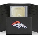 Denver Broncos Embroidered Tri Fold Wallet