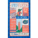 Florida Gators Spirit Canvas