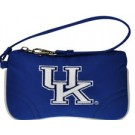 KENTUCKY WILDCATS NCAA COLLEGIATE WRISTLET CHANGE PURSE