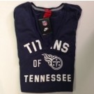Tennessee Titans Nike Womens V Neck Washed Out T shirt