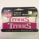 Tennessee Titans Pink Breast Cancer Awareness Bracelet