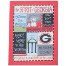Georgia Bulldogs Spirit Canvas