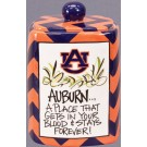 Auburn Tigers Magnolia Lane Cookie Jar