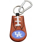 Kentucky Wildcats Leather Football Keychain