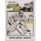 Anders Lindback Nashville Predators Rookie Card