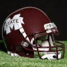 Schutt Mississippi Bulldogs NCAA Mini Helmet